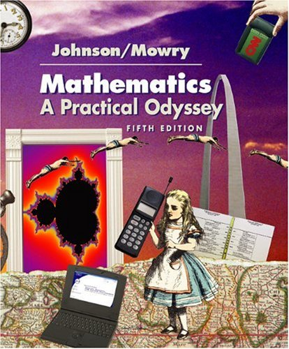 9780534400590: Mathematics: A Practical Odyssey (with InfoTrac) (Available Titles CengageNOW)