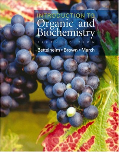 9780534401887: Introduction to Organic and Biochemistry (with CD-ROM and InfoTrac)