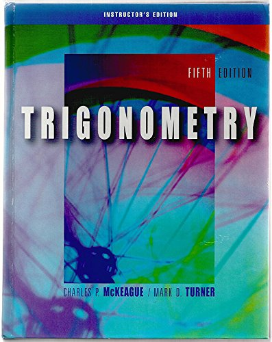 9780534404017: Trigonometry (Instructor's Edition) Edition: Fifth