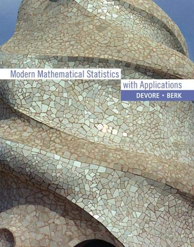 9780534404734: Modern Mathematical Statistics with Applications (with CD-ROM)