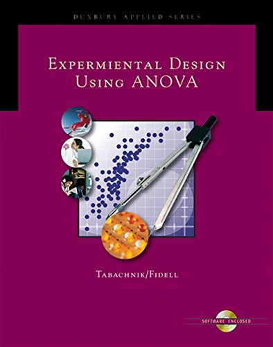 9780534405144: Experimental Designs Using ANOVA (with Student Suite CD-ROM) (Duxbury Applied Series)