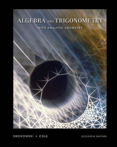 9780534405953: Algebra and Trigonometry with Analytic Geometry