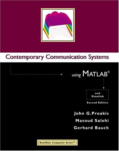 9780534406172: Contemporary Communication Systems Using MATLAB