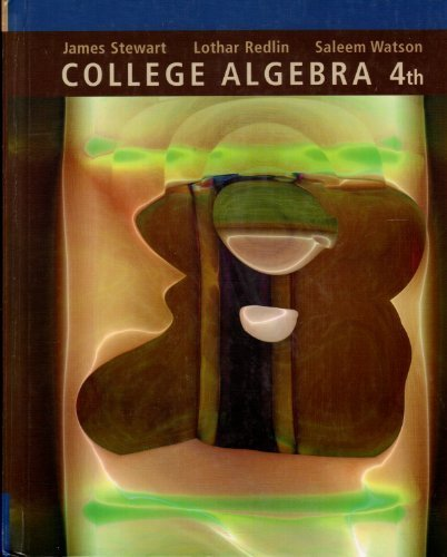 9780534406219: College Algebra W/CD 4e