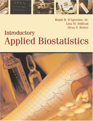 9780534406899: Introductory Applied Biostatistics, Preliminary Edition