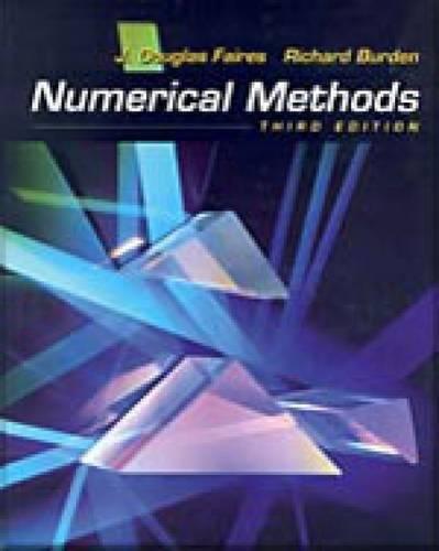 9780534407612: Numerical Methods