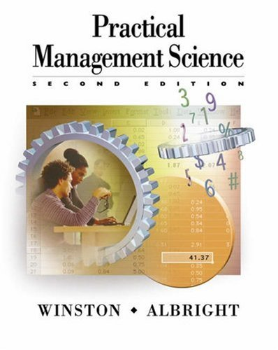 9780534407759: Practical Management Science: Spreadsheet Modeling and Applications (with CD-ROM Update)
