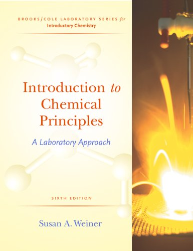 9780534407773: Introduction to Chemical Principles: A Laboratory Approach (Brooks/Cole Laboratory Series for Introductory Chemistry)
