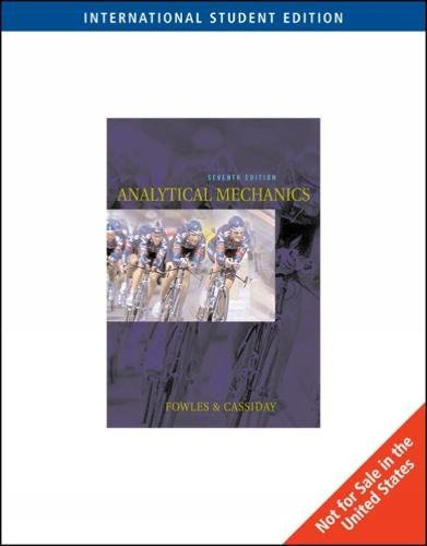 9780534408138: Analytical Mechanics, International Edition