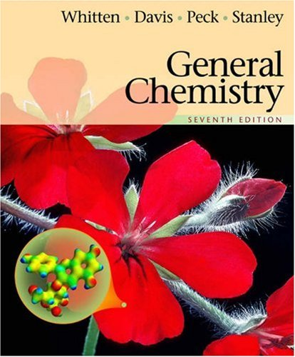 General Chemistry (with CD-ROM and InfoTrac): Whitten, Kenneth W.;
