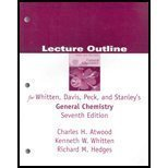 General Chemistry, Seventh Edition Solutions Manual: Kenneth W. Whitten,