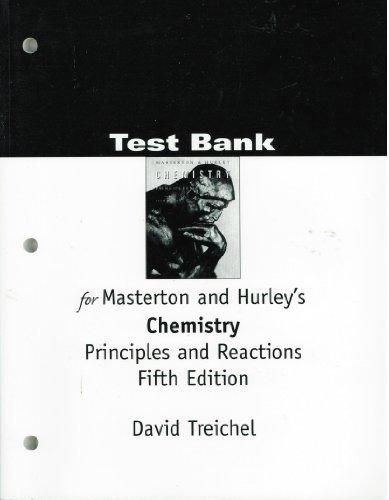 CHEM PRIN/REACTIONS 5E TB: MASTERTON