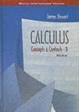 9780534409838: Calculus Concepts & Contexts 3 Metric Version