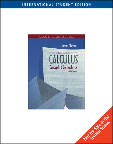 9780534409920: Single Variable Calculus: Concepts and Context