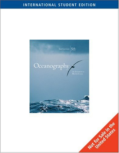9780534409937: Oceanography: An Invitation to Marine Science - 5th Edition w/ OceanographyNow & InfoTrac (Internati