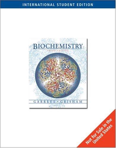 9780534410209: Biochemistry