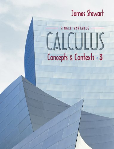 9780534410223: Single Variable Calculus: Concepts And Contexts, 3 E