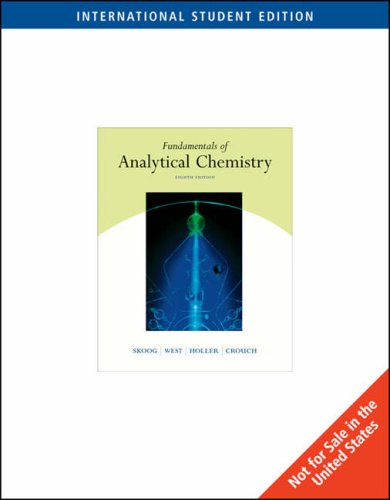 9780534417970: Fundamentals of Analytical Chemistry