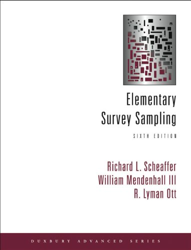 9780534418052: Elementary Survey Sampling (with CD-ROM)