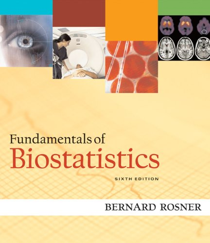 9780534418205: Fundamentals of Biostatistics (with CD-ROM)