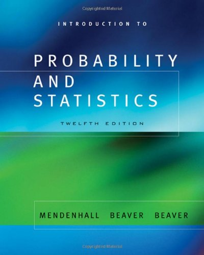 9780534418700: Introduction to Probability and Statistics (with CD-ROM) (Available Titles CengageNOW)