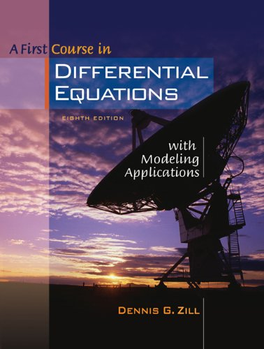 9780534418786: A First Course in Differential Equations with Modeling Applications (with CD-ROM and iLrn Tutorial) (Available Titles CengageNOW)