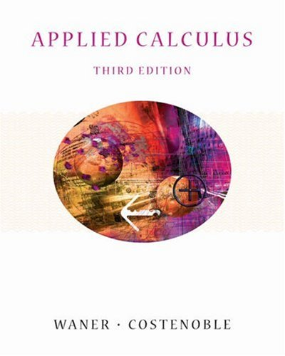 9780534419585: Applied Calculus (with InfoTrac) (Available Titles CengageNOW)