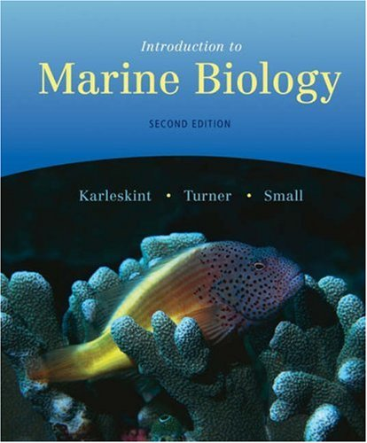 9780534420727: Introduction to Marine Biology (with InfoTrac) (Available Titles CengageNOW)