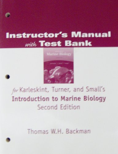 9780534420734: Im/TB-Intro Marine Bio 2e