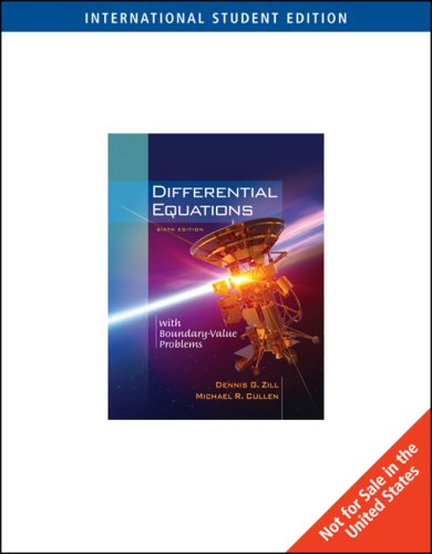 9780534420741: Differential Equations with Boundary Value Problems: With Ilrn Tutorial