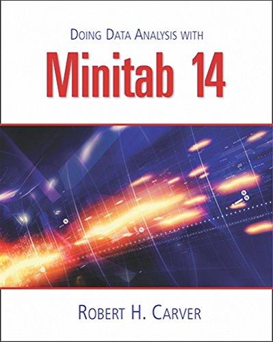 9780534420840: Doing Data Analysis with MINITAB™ 14 (with CD-ROM)