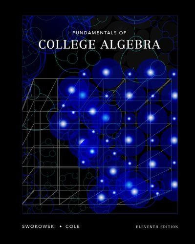 9780534420864: Fundamentals of College Algebra (with CD-ROM, iLrn Tutorial, and InfoTrac)