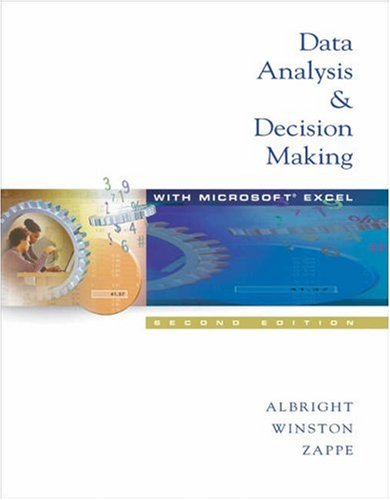 9780534421458: Data Analysis and Decision Making (with CD-ROM and InfoTrac)