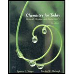 9780534422554: Chemistry for Today: General, Organic, and Biochemistry (with CD-ROM and InfoTrac)