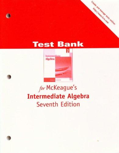 9780534422950: TB INTERMEDIAGE ALG 7E