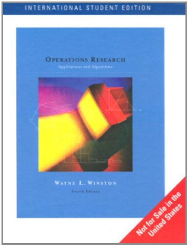 9780534423629: Operations Research: Applications and Algorithms