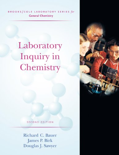 9780534424244: Laboratory Inquiry in Chemistry (Brooks/Cole Laboratory Series for General Chemistry)