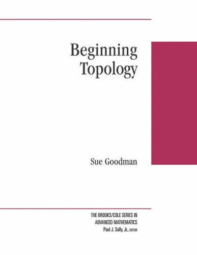 9780534424268: Beginning Topology (Brooks/Cole Series in Advanced Mathematics)