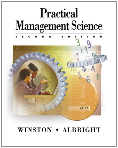 9780534424350: Practical Management Science (with CD-ROM Update): Spreadsheet Modeling and Applications
