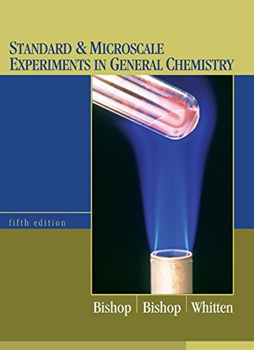 9780534424572: Standard and Microscale Experiments in General Chemistry