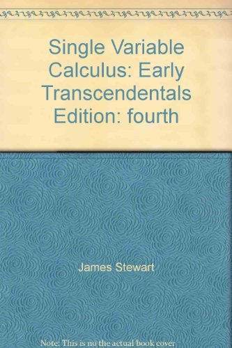 9780534432133: Single Variable Calculus (with Make The Grade and InfoTrac) (Available Titles CengageNOW)