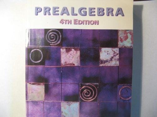 9780534434038: Prealgebra (with Make the Grade and InfoTrac)