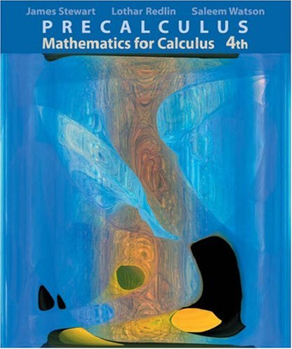 Precalc Math Calc-CD-Info 4e (Mixed media product): Stewart, Redlin, Watson