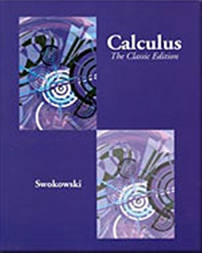 9780534435387: Calculus: The Classic Edition