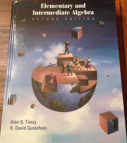 9780534435929: Elementary and Intermediate Algebra (Casebound with CD-ROM, Make the Grade, and InfoTrac) (Available Titles CengageNOW)