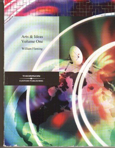 9780534443313: Arts & Ideas - Volume One (Volume I)