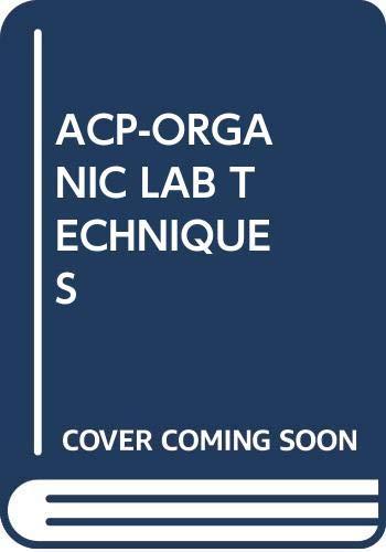 9780534443320: ACP-ORGANIC LAB TECHNIQUES
