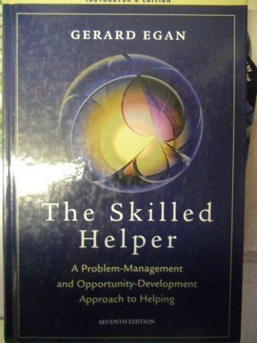 9780534446956: Skilled Helper