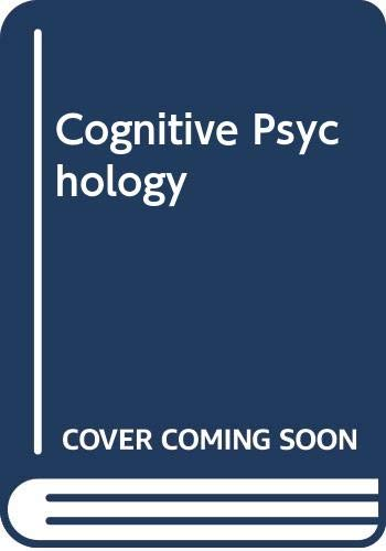9780534451424: Cognitive Psychology