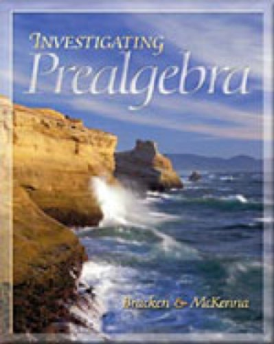 9780534453091: Investigating Prealgebra (with BCA Tutorial and InfoTrac)